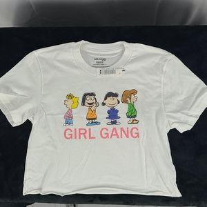 Add-on item, Peanuts Girl Gang kids shirts